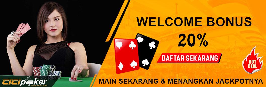 Bonus judi poker online uang asli